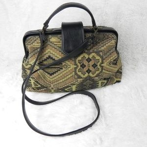 Vintage | Tapestry Cross Body Bag by Susan Reade